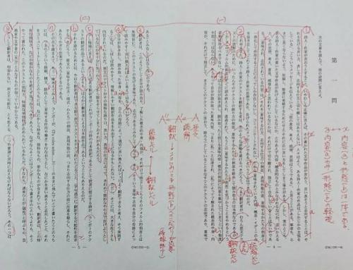 東京大学/2013年/国語/第一問/解答解説